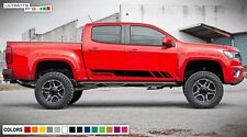 Decal Sticker Graphic Side Stripes For Chevy Chevrolet Colorado 4x4 Z 71 ZR2 Kit