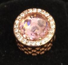 Pandora ROSE Charm 781725NBP Blush Pink Radiant Hearts S925 ALE R