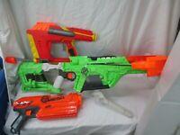 NERF Gun Lot Zombie Strike Crossbow, Iron Man Gun, and MEGA Gun (gh)