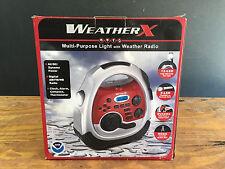 Weather X Multi-Purpose Light and Weather Radio NIB