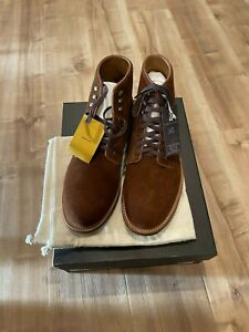 Jcrew Kenton Suede Plain Toe Boot Size US 10.5 AV246 Snuff Suede