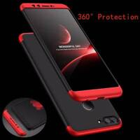 For Huawei Honor 9 Lite 360° Full Protective Hybrid Case+Tempered Glass Cover