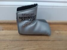 Pre-Owned Scotty Cameron Milled Mid Mallet Putter Cover Silver/Gray