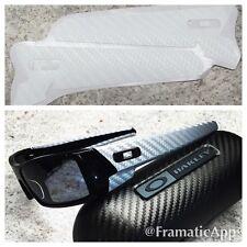Oakley Gascan - White Carbon Fiber Vinyl Skin