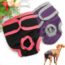 Female Dog Physiological Pants Bitch Sanitary Nappy Diaper Washable Underwear