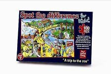 Paul Lamond Games Spot The Difference for Kids - a Trip to Zoo (100pcs)