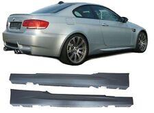 2 BAS DE CAISSE PACK M / M3 BMW SERIE 3 E92 COUPE E93 CABRIOLET de 2006 A 2013