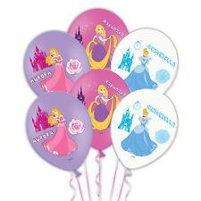 6 X Ballons Disney PRINCESSE-Fête D'Anniversaire décorations favorise * FREE P&P *