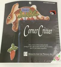 Designs for the Needle Corner Critter Nibbles The Rabbit #8109 Cross Stitch Kit