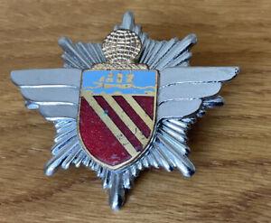 An old original Manchester Airport Fire Service, Cap Badge.