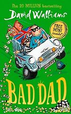 Bad Dad by David Williams Hardcover Book Brilliant Gift