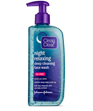 HM Clean & Clear Night Relaxing Deep Cleaning Face Wash 8 oz