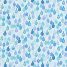 Row by Row ~ 2015 Collection~Timeless Treasures~Sky Rain Drops ~1/2 yard