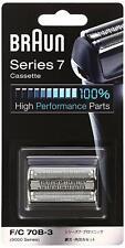 Braun Rasierer Serie 7 Blade-Integrated Kassette Schwarz F/C70B-3 Japan Beamte