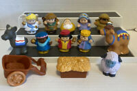 Fisher Price Little People Nativity Figures LOT