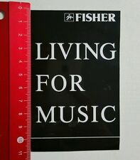 ADESIVI/Sticker: Fisher Living for music (090516130)