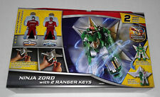 Power Rangers Super Megaforce Ninjazord with 2 Ranger Keys New in Box