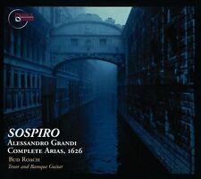 Sospiro: Alessandro Grandi - Complete Arias, 1626 (CD, Jun-2013, Musica Omnia)