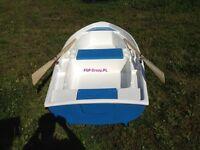 Angelboot, Ruderboot, Motorboot FGP-Group Escape 2,92m Lang 4x Becherhalter CE