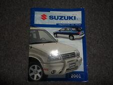 2001 Suzuki Genuine Accessories  Engineered for Value Manual FACTORY OEM BOOK 01