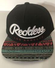 finest selection 69cfe 9ef3d YOUNG   RECKLESS OG SP15 Yuma Black Aztec Snapback Hat Cap