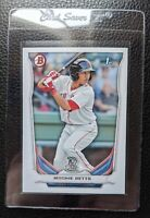 2014 BOWMAN PROSPECTS #BP109 MOOKIE BETTS ROOKIE CARD RC BOSTON RED SOX DODGERS