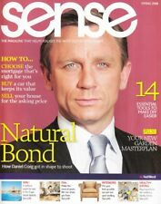DANIEL CRAIG - JAMES BOND 007 - Vintage British SENSE Magazine Spring 2008 C#1