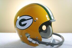 GREEN BAY PACKERS Custom Game Style TK5 Vintage Football Helmet Bart Starr #15