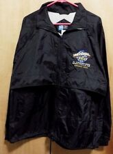 C P Company Embroidered Universal 360 Mens Zipper Black Jacket L Opening Crew