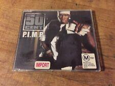 50 Cent - P.I.M.P. Australia Import Enhanced CD Single Snoop Dogg Young Buck