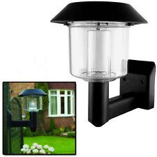 Stainless Steel Lantern Solar Outdoor Security & Floodlights