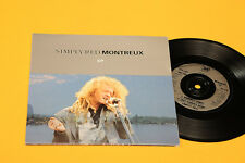 """SIMPLY RED 7"""" EP MONTREAUX ORIG EX 4 TRACKS GATEFOLD COVER"""