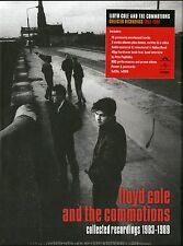 LLOYD COLE & THE COMMOTIONS COLLECTED RECORDINGS 5CD+DVD 1983-1989 NUOVO
