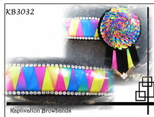 KAPTIVATION BROWBANDS - BLING DIAMONTE  - Rainbow Bling - ANY SIZE