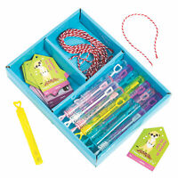 Valentine'S Day Bubble Exchange Kit For 15 - Toys - 45 Pieces
