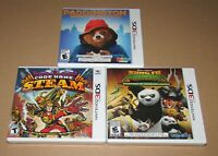 Lot of 3 Nintendo 3DS Games / All Brand New / Fast Shipping