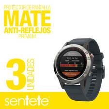 Sentete® 3x Garmin Fenix 5 (47mm) Protector de Pantalla MATE PREMIUM
