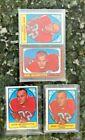 BOB SCARPITTO- DENVER BRONCOS-FLANKER~LOT OF 4 FOOTBALL SPORTS CARDS