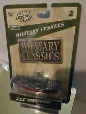 Vintage Diecast Military Vessels Uss Yorktown New Sealed