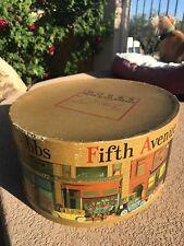 Antique New York Dobbs Fifth Avenue Hat Box