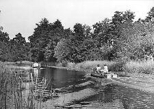 AK, Wendisch Rietz, Kr. Beeskow, Fließ zum Springsee, Boote, 1965