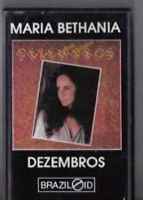MARIA BETHANIA Dezembros CASSETTE TAPE RARE OOP FEMME LATIN BRAZIL SPANISH