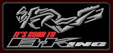 "SUZUKI B-KING EMBROIDERED PATCH ~5""x 2-1/4"" MOTORCYCLE STREETFIGHTER 1400CC BIKE"