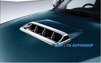 Chrome Scoop Turbo Cover Trim Genuine Parts For Toyota Hilux Vigo Champ 12 - 15
