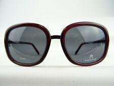 dunkelrote bordeaux Sonnenbrille Damen RODENSTOCK große Gläser in grau  Gr. L