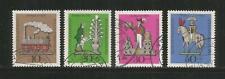GERMANY – 1969 – TIN TOYS - SET OF 4 - Scott #B450-453 – USED