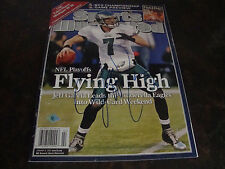 Philadelphia Eagles---Jeff Garcia---Autographed Sports Illustrated---With COA