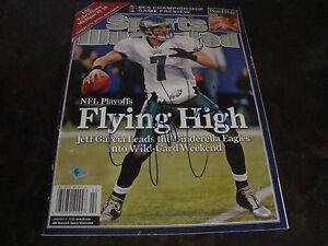 Philadelphia Eagles---Jeff Garcia---Autographed Sports Illustrated---With COA