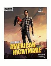 Alan Wake's American Nightmare Steam Key Pc Game Download Code