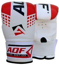 AQF Guanti Da Boxe Sacco Da Boxe Guanti MMA UFC Muay Thai Allenamento Grappling